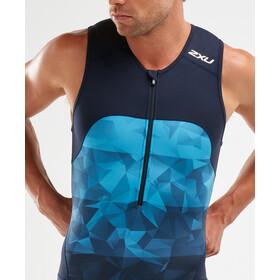 2XU Active Trisuit Heren, blauw